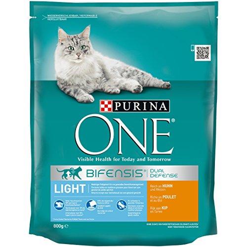 One Light Katzenfutter Huhn, 8er Pack (8 x 800 g)