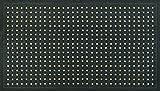 Kleen-Tex 074434 Kleen-Thru Plus Nitrilgummimatte speziell für den Nassbereich, Premium Qualität, schwarz, 86 x 143 cm