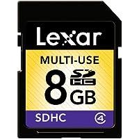 Lexar Multi-Use 8 Go Carte mémoire SDHC Classe 10 LSD8GBABEUC10