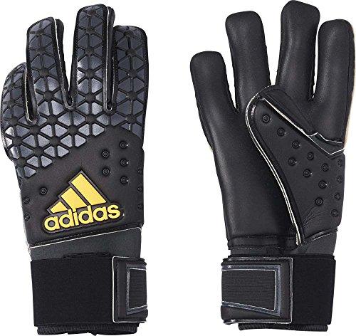 adidas Herren Torwarthandschuhe Ace Pro Classic, Black/DGH Solid Grey/White/Solar Gold, 11, AP5790