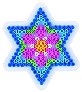 Hama Perlen 270  - Pared perforada, estrella