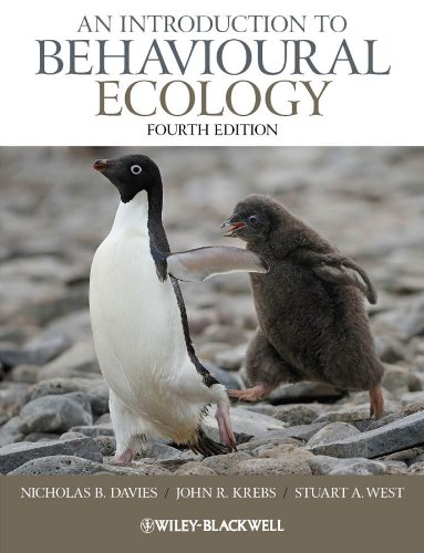 An Introduction to Behavioural Ecology por Nicholas B. Davies
