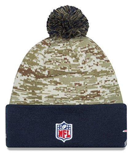 New England Patriots New Era 2015 NFL Sideline Salute to Service Sport Knit Hat Hut - 3