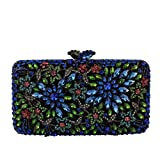 BAG Clutches Bolsas De Embrague para Mujer Piedra Preciosa Bolso De Noche Paquete De Cena Boda Fiesta Vestido Bolso Bolsa de noviaBolso de Lentejuelas Perla