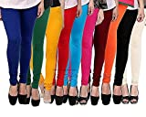 ROOLIUMS ® (Brand Factory Outlet) Women's Leggings Combo (Pack of 10) 160 GSM, 4 Way - FREE SIZE (Free Size, BL,DG,Y,R,SBL,P,M,O,B,C)