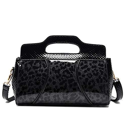 Pu Tasche Frauen Tasche Lackleder Weiches Leder Mode Schulter Umhängetasche Trend Große Kapazität Handtasche Tasche
