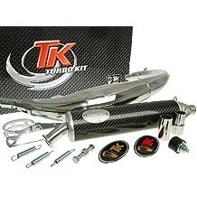 Turbo Kit Road RQ cromo Tubo de escape para Yamaha TZR 50
