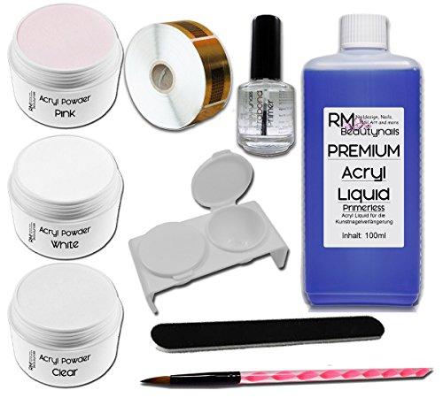 acryl-set-1-100ml-liquid-je-20g-klar-weiss-pink-puder-1xprimer-feile-rm-beautynails