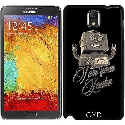 Coque pour Samsung Galaxy Note 3 (GT-N9500) - Je Suis Votre Robot Leader by Carsten Reisinger