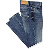 United Colors of Benetton Men's Carrot Jeans (18P4L23R8118I_Blue_28)