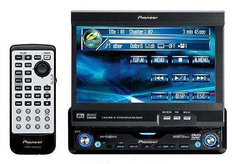 Pioneer AVH-P7500DVD-II, ausf. 6,5 Zoll Farb Tocuh Screen Monitor mit integr. DVD/CD Player und RDS Radio und Dolby Digital Decoder