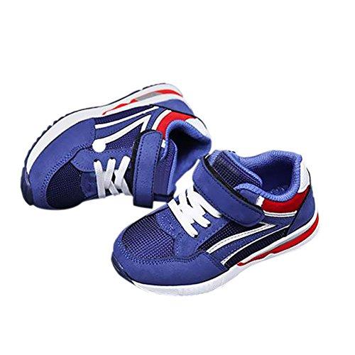 Zhuhaixmy Kinder Kids Jungen Mädchen Frühling Sport Running Schuhe Casual Breathable Turnschuhe Blue