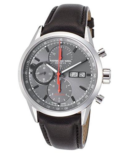 raymond-weil-freelancer-herren-armbanduhr-42mm-armband-leder-schwarz-schweizer-automatik-7730-stc-60