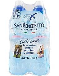 Sanbenedetto Acqua Minerale Naturale Libera - Confezione da 6 x 500 ml
