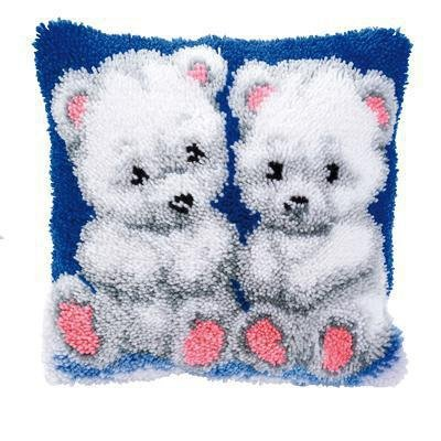 Vervaco PN-0014150 Knüpfkissen 3562 Bären -
