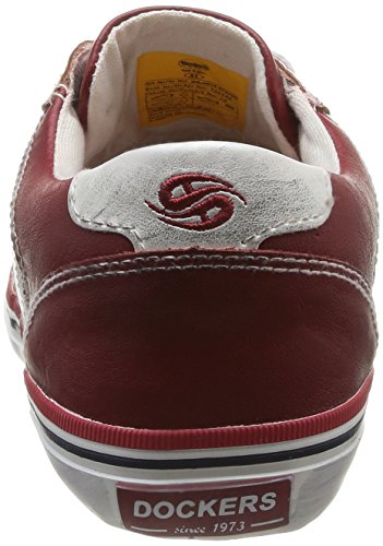 Dockers by Gerli 30LG016-610705, Chaussures de sports extérieurs homme Rouge (rot/weiss)