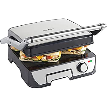 russell hobbs 3 in 1 panini press grill and griddle 17888. Black Bedroom Furniture Sets. Home Design Ideas
