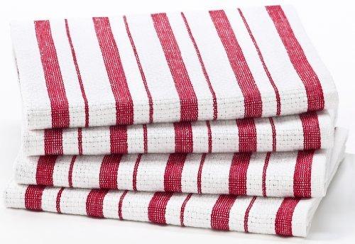 Cotton Craft – 4 paños de cocina de gran...