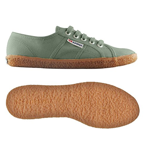 Superga 2750 Naked Cotu, Sneakers basses femme GREEN MALACHITE