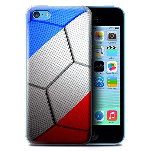 Coque de Stuff4 / Coque pour Apple iPhone 5C / Portugal Design / Nations de Football Collection France/Français