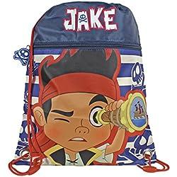 Jake y Los Pirata de Nunca Jamás Saco mochila (Cerdá 2101-739)
