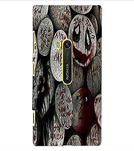 ColourCraft Quoted Rocks Design Back Case Cover for NOKIA LUMIA 920