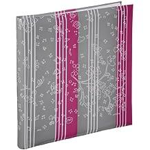Hama 10632 - Álbum de fotos, 100 páginas y 60 páginas, papel, color frambuesa