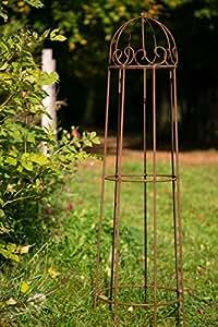 rankger st roheisen rost obelisk rosenhilfe h 120cm. Black Bedroom Furniture Sets. Home Design Ideas