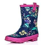 SPYLOVEBUY ANTONIA Flat Festival Wellies Rain Boots