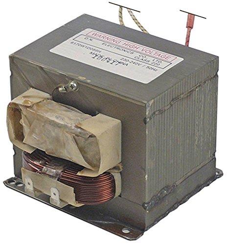 HV-Transformator 6170W1D089H für Mikrowelle 50Hz primär 230V (Transformator Mikrowelle)