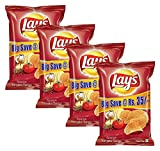 #3: Easy Day Combo - Lay's Potato Chips Spanish Tomato Tango Big, 95g (Buy 3 Get 1, 4 Pieces) Promo Pack