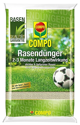 Compo Rasendünger, 2-3 Monate Langzeitwirkung, Feingranulat, 25 kg, 1000 m²