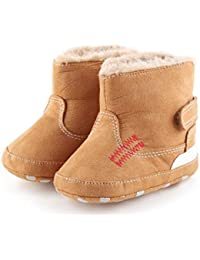 WensLTD Baby Soft Sole Snow Boots Soft Crib Shoes Toddler Boots