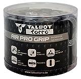 Talbot Torro Griffband Air Pro Grip, Basis Griffband aus PU, für Badminton, Squash, 90 x 2,5 cm, Stärke 2,0 mm, Großbox mit 24 Bändern, 449163