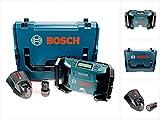 Bosch GML 10,8 V-LI Akku Radio in L-Boxx + 1 x GBA 10,8 V 2,5 Ah Akku + AL 1130 CV Schnelllader