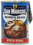San Marcos Refried Beans 430 g (Pack of 6)