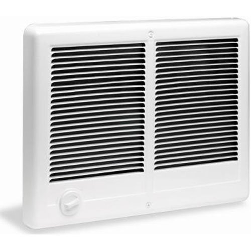 Cadet Manufacturing 67526 240-Volt White Com Pak Twin Double Fan Forced Electric Wall Heater, 3000-Watt