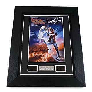 Back to the Future Film Cells Framed
