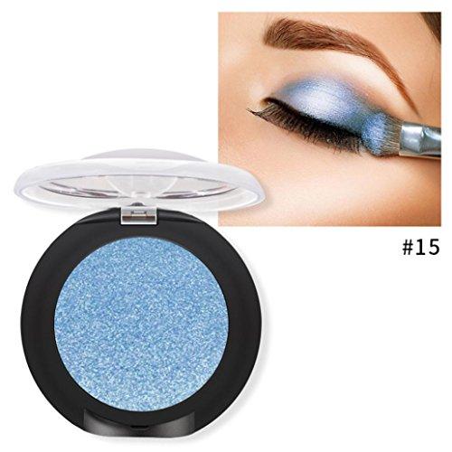 Palette Fard à Paupières,LONUPAZZ 20 Couleurs Ombre à Paupières Paillettes Diamant Maquillage Fard à Paupières Palette Maquillage Yeux Beauty Available (E1)