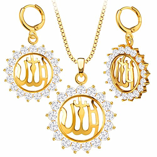 fashion-jewelry-islamic-crystal-allah-charms-18k-gold-plated-pendant-necklaceearrings-for-women-s201