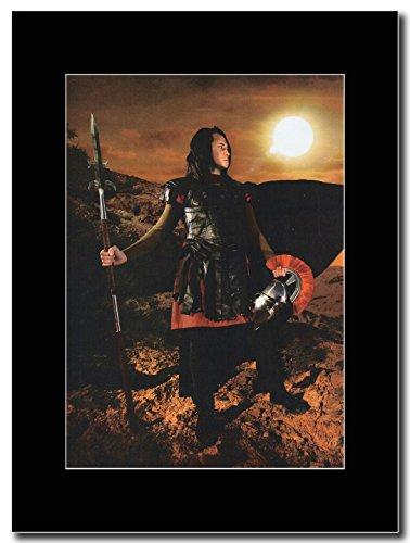 Trivium-opaco Heafy All Dressed Up Magazine Promo su un nero Mount