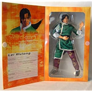 Tekken Tag Tournament-inch figure thunder Wulong Oolong Ray (US version) (japan import) 9