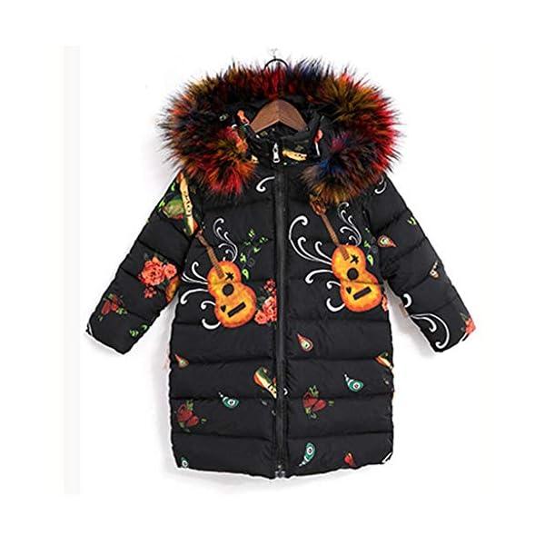 Ropa Niña, ASHOP Ropa de Bebe Niña Invierno 2019 Chaqueta con Capucha Algodón Abajo Grueso Precio Especial Jacket 8-14… 2