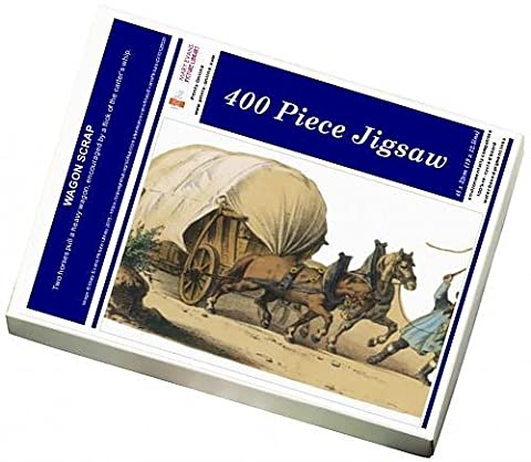 Photo Jigsaw Puzzle Of Wagon Scrap