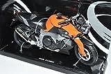 B-M-W K1300R Orange Schwarz 1/12 Automaxx Modell Motorrad mit individiuellem Wunschkennzeichen