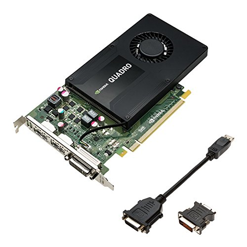 PNY VCQK2200-PB-Grafikkarte (Quadro K2200, 3840x 2160Pixel, NVIDIA, 4GB, GDDR5, 128Bit)