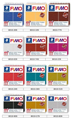 Staedtler Fimo Soft Pack 12 x 57gr. Effetto Pelle