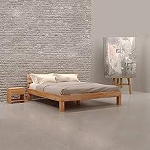Bett 140x200 holz  Suchergebnis auf Amazon.de für: balkenbett 140x200