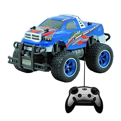 Diawell RC ferngesteuertes Auto Monstertruck Truck Car im Super design mit Lexan Karosserie 651611B (Kinder Jahren Für Auto 10 Ab)