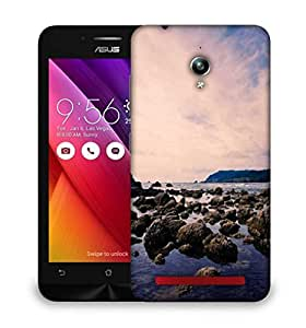 Snoogg Stones In The Sea Designer Protective Phone Back Case Cover For Asus Zenfone GO